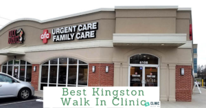 walk in clinic kingston