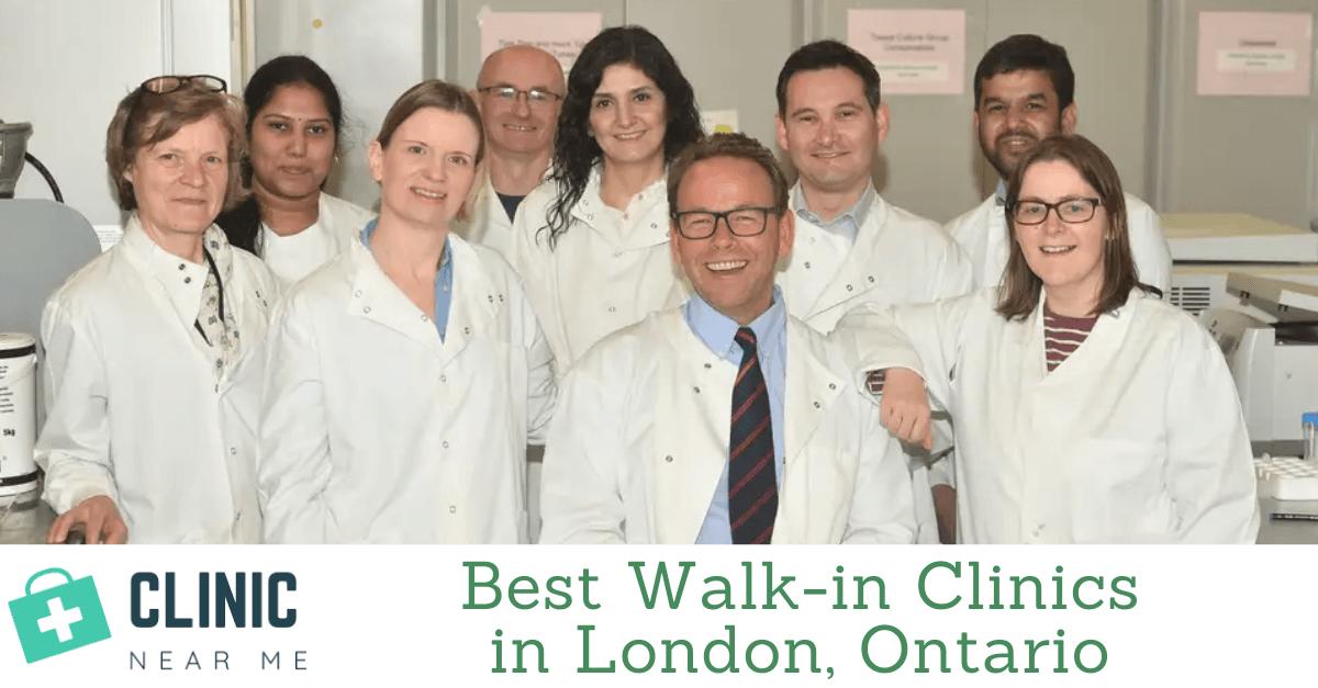 walk in clinic london