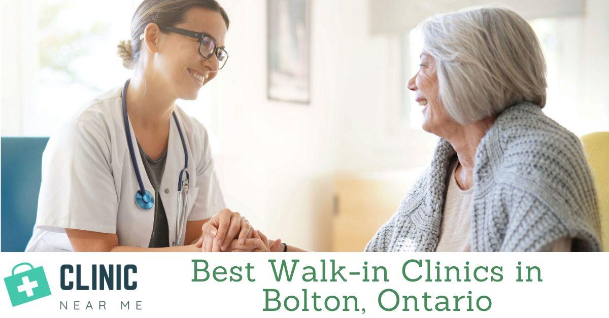Walk in Clinic Bolton