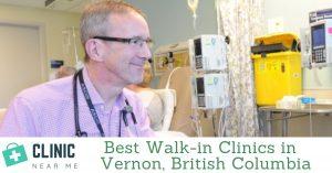 vernon walk in clinic